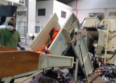 Connacher Textiles Transfer Conveyor